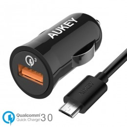 Aukey Turbo Car Charger with Quick Charge 3.0 (Single Port)