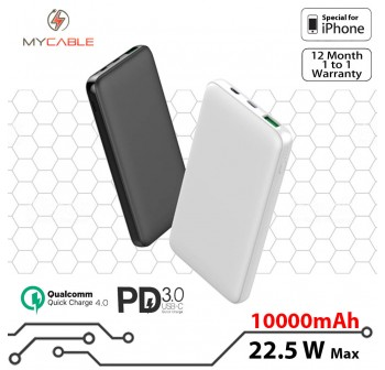 [Hyper Charge] Power Bank 22.5W Max [QC4.0]